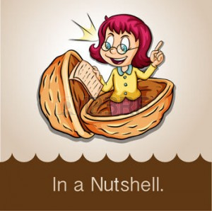 44381755-saying-in-a-nutshell-illustration
